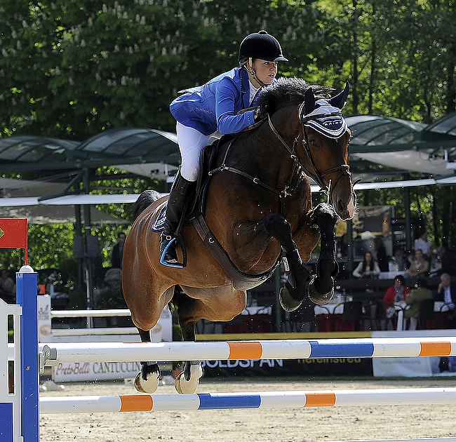 Vanessa Borgmann und Come to win holen EY-Cup-Finalplatz