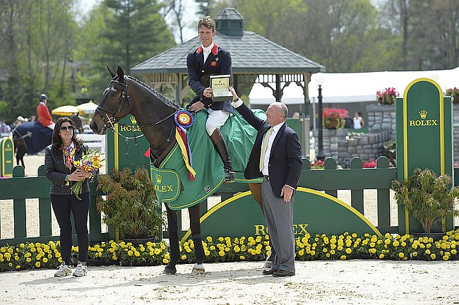 William Fox-Pitt (GBR) wins the 2014 Rolex Kentucky Three-Day Event