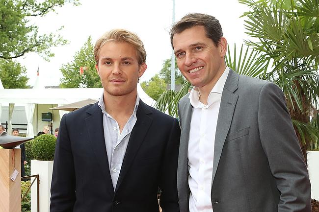 CHIO Aachen 2014 – Media Night mit Nico Rosberg und Alain Delon