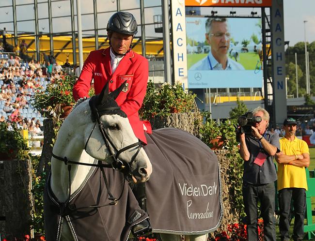 CHIO Aachen 2014 – emotionaler Abschied von Corradina
