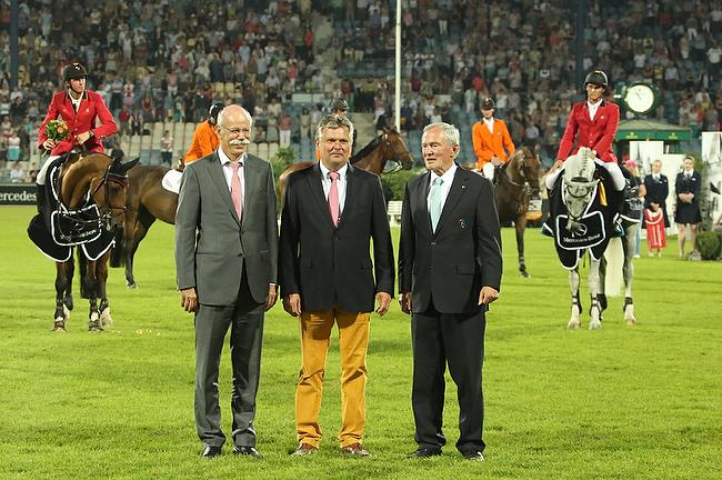CHIO Aachen 2014: Belgien gewinnt den Nationenpreis