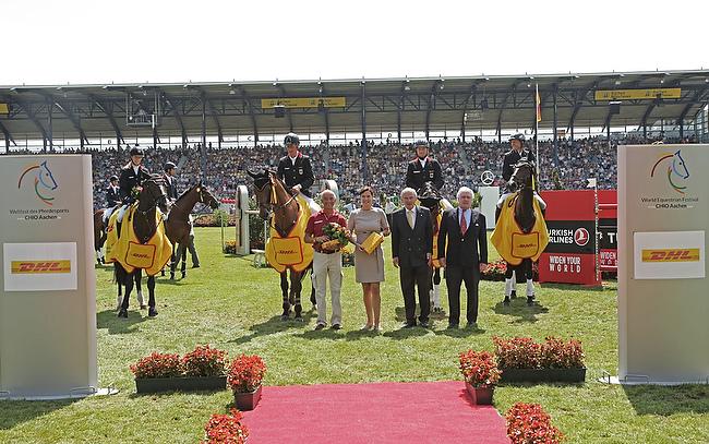 CHIO Aachen 2014: Deutschland gewinnt die Nationenwertung im DHL-Preis