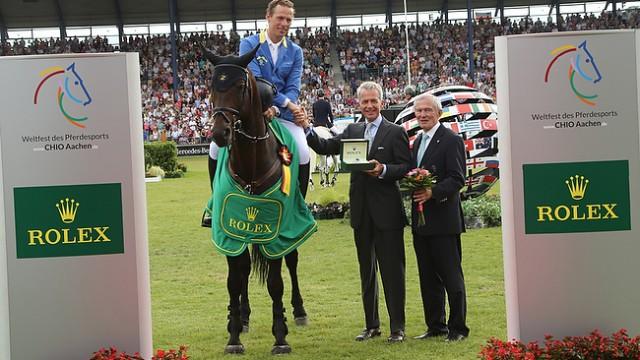 Reitsport-Nachrichten.eu CHIO Aachen 2014: Christian Ahlmann gewinnt den Rolex Grand Prix