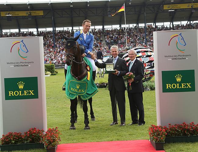 CHIO Aachen 2014: Christian Ahlmann gewinnt den Rolex Grand Prix