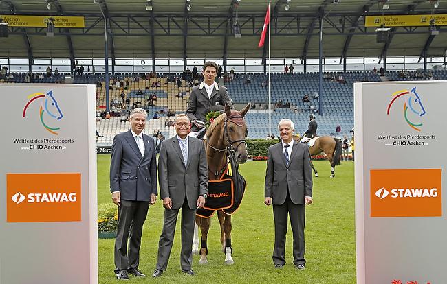 CHIO Aachen 2014: Schweizer Sieg im STAWAG-Eröffnungsspringen