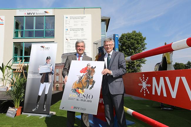 Der 100. CSIO findet 2015 in Mannheim statt