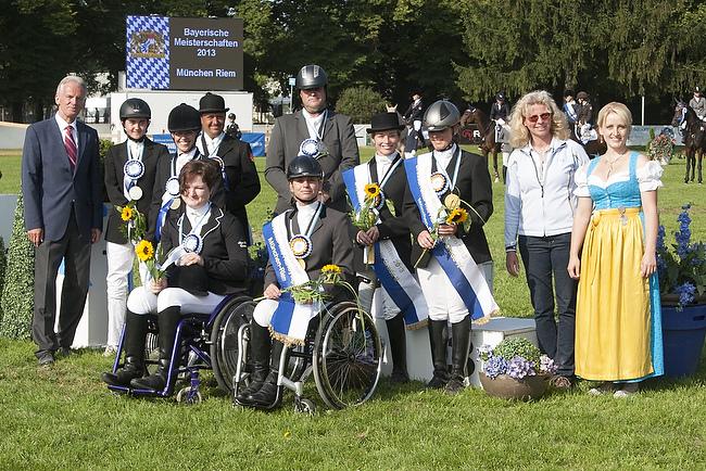 Bayerische Meisterschaften in Dressur und Springen 2014