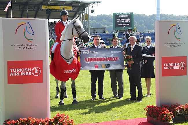 CHIO Aachen 2014: Stars and Stripes im Turkish Airlines-Preis von Europa