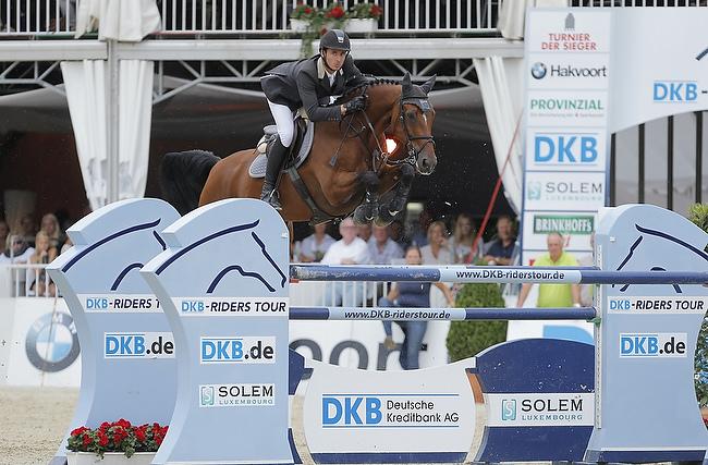 DKB Riders Tour 2014: Steve Guerdat triumphiert in Münster