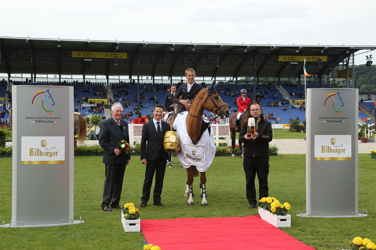 Weltfest des Pferdesports – Preis der Bitburger Brauerei