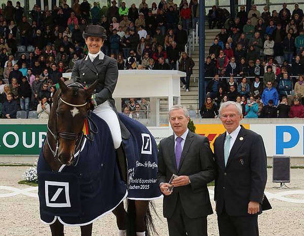 Weltfest des Pferdesports 2015: Tinne Vilhelmson Silfven