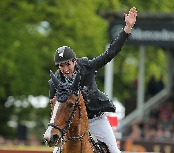 Christian Glienewinkel siegt im 86. Deutschen Spring-Derby