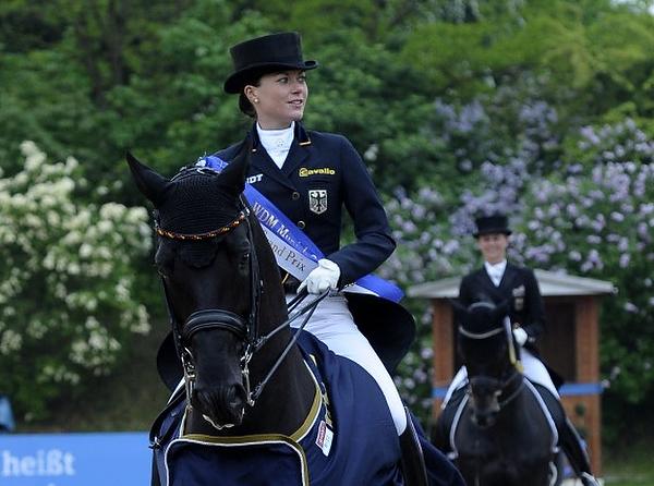 Dressur bei der Pferd International 2015 in München Riem