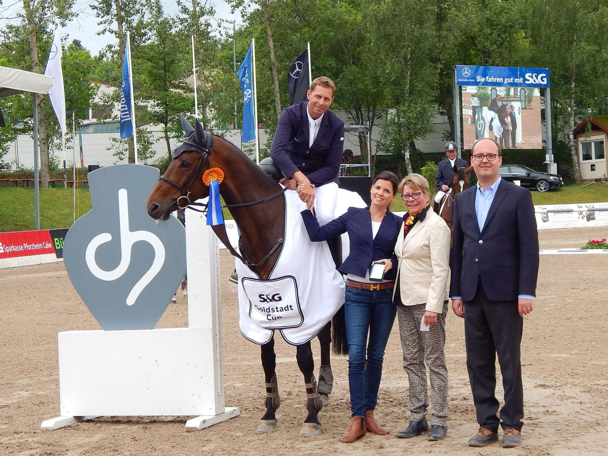 Markus Renzel dominiert im Preis der C.Hafner GmbH & Co. KG