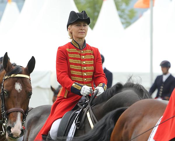 Reit-EM Aachen 2015: Generalprobe für Ursula von der Leyen