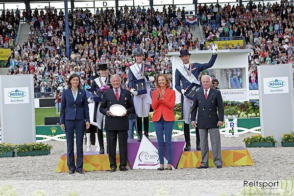 EM Aachen 2015: Gold für Titelverteidigerin Charlotte Dujardin