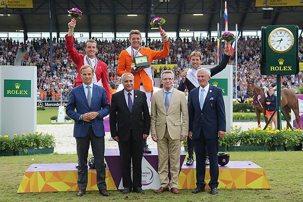 EM Aachen 2015: Gold für Jeroen Dubbeldam (NED)
