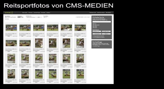 Bilddatenbank, Bildarchiv, Reitsportfotos, Reitsport-Fotos, Reitsporbilder, Pferdebilder, Turniersportfotos - mehr als 600.000 Reitsportfotos im Bildarchiv von CMS-MEDIEN.EU