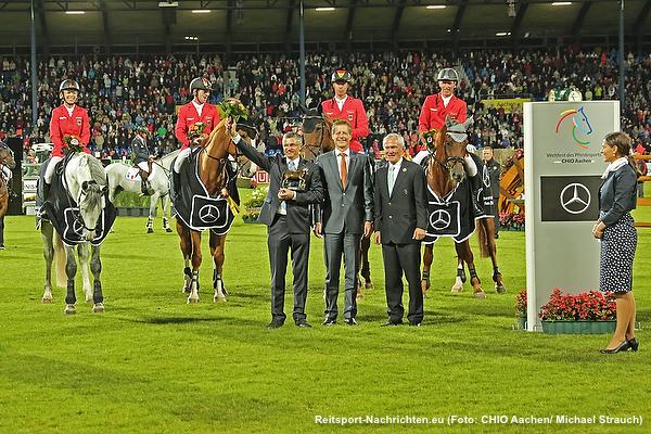 CHIO Aachen 2016: Deutscher Triumph im Mercedes-Benz Nationenpreis