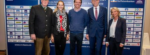 VR CLASSICS – Spitzenfeld für internationalen Sport