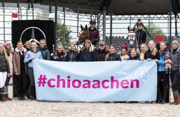 Zwei- und vierbeinige Social Media-Stars beim 2. CHIO Aachen-Bloggertreffen