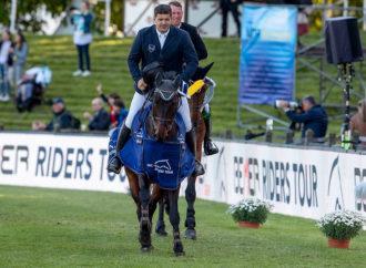 Deutsches Spring-Derby: Benjamin Wulschner legt vor