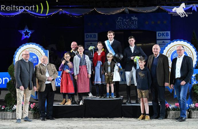 Munich Indoors 2019: Hans-Peter Konle ist der neue Bayernchampion