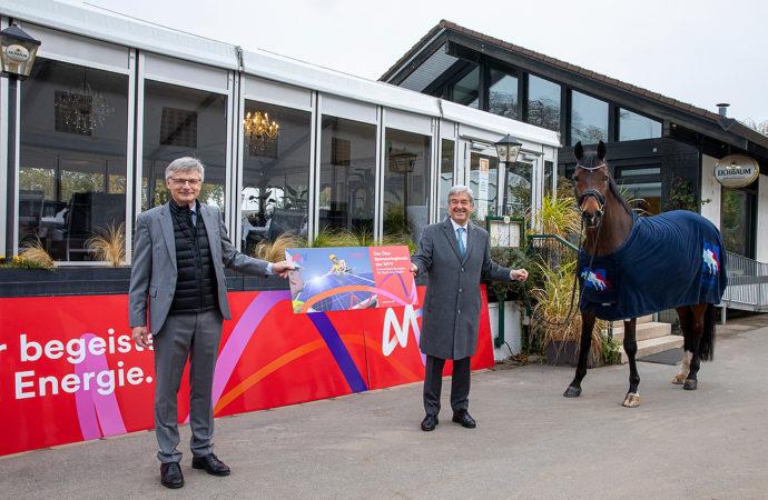 MVV unterstützt Reiter-Verein Mannheim beim Bau einer Photovoltaik-Anlage